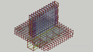 retaining wall r c steel reinforcement designed by majid ahari animated dr c sachpazis