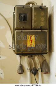 box old dangerous stock photos box old dangerous stock images old fuse box stock image
