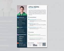 Cv Resume Design By Atty12 On Deviantart