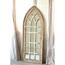 window mirror decor arch mirror arch mirror arch mirror tall wall decor arched windowpane mirror window