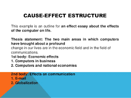 structure of functional cause and effect essay outline    Servidem