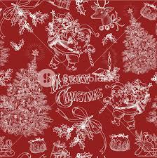 vintage christmas pattern.  Christmas Red Vintage Christmas Pattern On E
