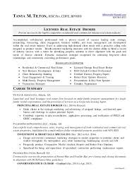commercial real estate cover letter real estate agent resume broker 7 new sample constescom commercial