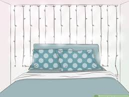 How To Secure String Lights 3 Ways To Hang String Lights From The Ceiling Wikihow