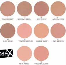 Max Factor Creme Puff Colour Chart Makeup With Style Maxfactor Creme Puff Pressed Powder