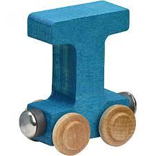 wood train letters t