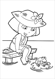 I believe that, that dora on horse coloring pages and other coloring pages can help to build motor skills of your this black and white drawings of dora coloring pages for kids printable free will bring fun to your kids and free time for you. Coloring Store Free Dora The Explorer Coloring Pages