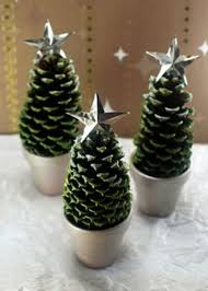 Pom Poms And Pinecones Ornaments  Top 30 Lovely And Cheap DIY Christmas Crafts Cheap