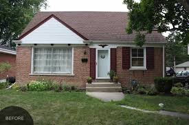 Ranch House Curb Appeal Remodelaholic Adding Curb Appeal The Blank Slate Brick Ranch
