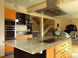 design a kitchen island. modern design kitchen island with cook top and stainless oven hood a