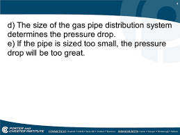 Massachusetts Gas Pipe Sizing Chart Pipe Sizing Sizing Gas Pipe For Low Pressure Systems Ppt