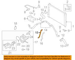 gm oem radiator heater hose 95214145 gm oem radiator heater hose 95214145