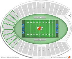 Wallace Wade Stadium Seating Chart