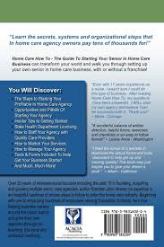 HOME CARE HOW TO - The Guide To Starting Your Senior In Home Care ...