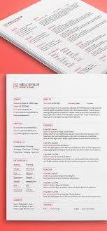 15 Free High Quality Cv Resume Cover Letter Psd Templates
