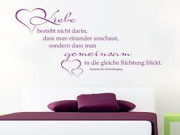 Spruch Voller Liebe Als Wandtattoo Sprüche Rund Um Die Liebe Als