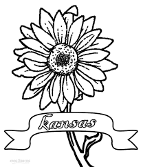 Small Picture Printable Sunflower Coloring Pages For Kids Cool2bKids Plant