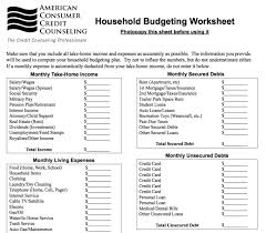 Free Family Budgeting Worksheets 9 Useful Budget Worksheets That Are 100 Free 100113927908 Family