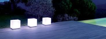 Contemporary Solar Outdoor Lighting Viteo Luxury Modern Garden Lighting Contemporary Exterior