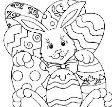 Coloring Pages Easter Printable Easy To Draw Bunny Pictures Luxury