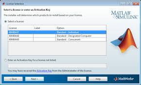 activate an installation using a account matlab simulink note