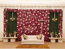 It gives a very sweetly romantic feel and its suitable. 9 Beautiful Wall Decoration Designs Ideal For Your Reception