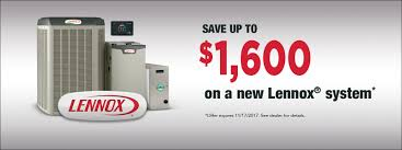 lennox gwm ie. lennox winter 2017 national promotion $1500 gwm ie