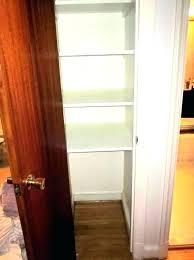 deep closet ideas cool closet ideas deep narrow closets coat linen home n door deep linen