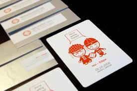 Graphic Design Wedding Invitation Hoi Ning Wong