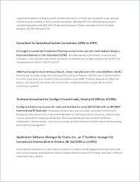 Key Qualifications Resume