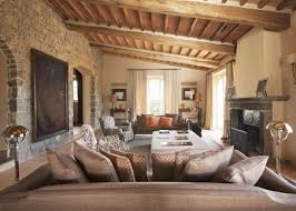 Tuscan Living Room Design Bring Old Italian Feel Through The Extravagant Tuscan Living Room