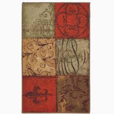 mohawk kitchen rugs beautiful blue and tan modern rug from mohawk chevronpillow setthetable