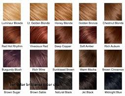 Ion Hair Dye Color Chart Ion Color Brilliance Permanent Creme Hair Color Chart