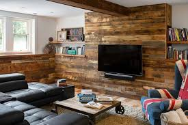 barn wood wall decor ideas for ceiling and fireplace walls