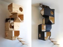 modern cat tree furniture. catissa cat house modern tree furniture a