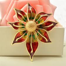 Большая <b>Золотая брошь</b> для женщин, <b>брошь</b> в виде <b>цветка</b> ...