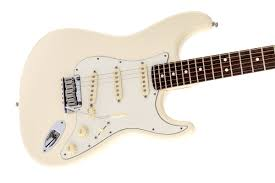 jeff beck stratocaster acirc reg fender electric guitars jeff beck stratocasteracircreg olympic white