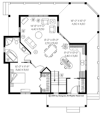 1 bedroom house plans. One Bedroom Cottage Plan Intent On Plus Ideas Fresh House Plans Small One-bedroom Floor 1