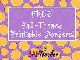 free printable borders teachers classroom freebies too printable bulletin board borders