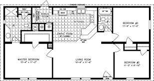 manufactured home floor plan the t n r model tnr 44811a 3 bedrooms