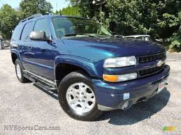 2005 Chevrolet Tahoe Z71 4x4 in Bermuda Blue Metallic photo #10 ...