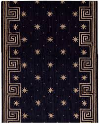 Cosmopolitan C95R R59 Celestial Midnight 3u0027 Foot Wide Hall And Stair Runner