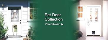 door with dog door built in entry door with dog door exterior doors with dog doors