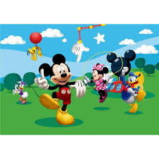Mickey Mouse Wallpaper For Bedroom Disney Mickey Mouse House Wallpaper Great Kidsbedrooms The
