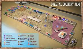 Country Jam Vip Seating Chart Coastal Country Jam April 6 2019 Huntington Beach California