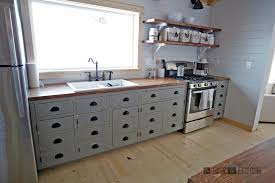 White painted kitchen cabinets White Countertop Diy Apothecary Style Kitchen Cabinets Ana White Ana White Diy Apothecary Style Kitchen Cabinets Diy Projects