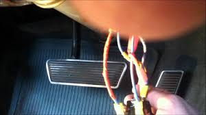 hot wired ignition switches