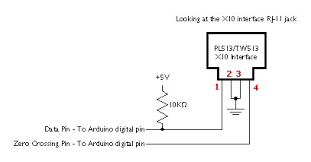 x 10 connecting x10 to arduino electrical engineering stack enter image description here