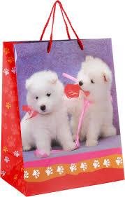 <b>Играем вместе Пакет</b> подарочный Собаки 26 х 32 х 14 см