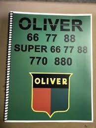 oliver tractor manual super 77 oliver tractor technical service shop repair manual model 77 super